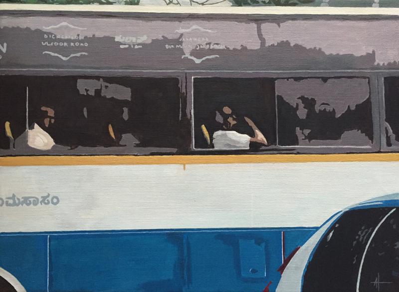 Buss i Bangalore