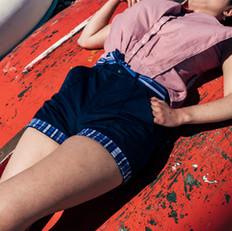Set Sail Shirt and utility shorts