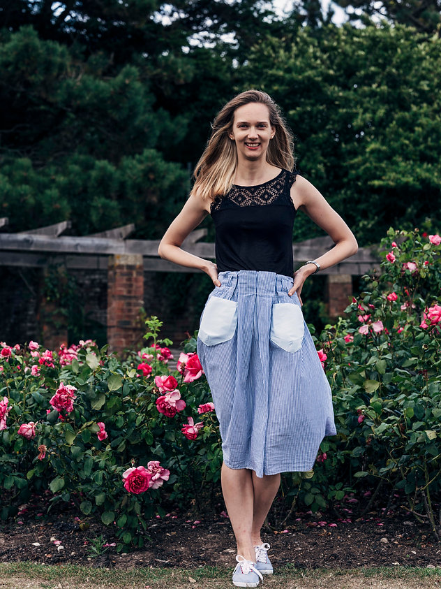 skirt with geometric 3d pockets.jpg