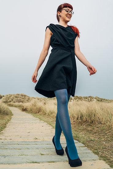 Wrap Around Little Black Dress