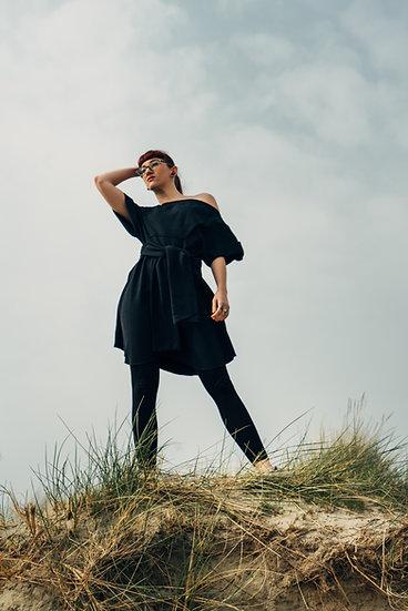 Off- Shoulder Little Black Dress