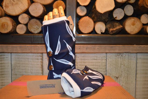 Spinnaker tower inspired gloves