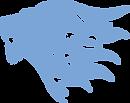 Lion Vector blue.png