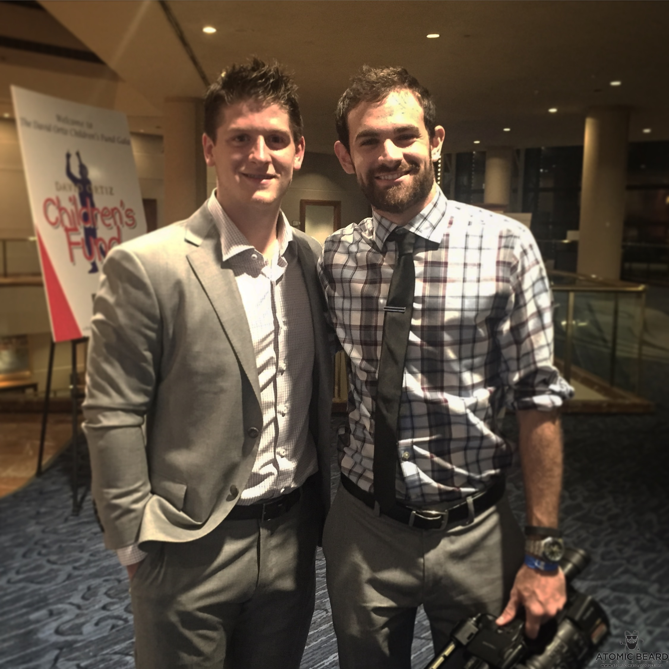 Torey Krug at Charity Event