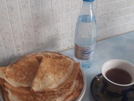 Рецепт блинов на Серебряной воде Даймонд от Раи Цыганковой