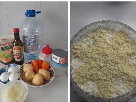 Сытный нежный салат Мимоза от клиента компании Даймонд