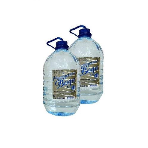 """""""Серебряная вода"""" 5 литров."""