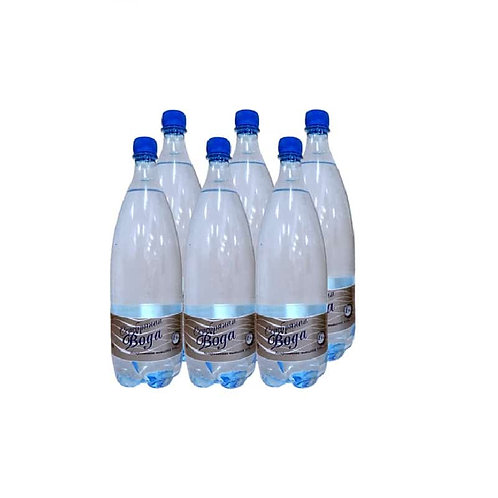 """""""Серебряная вода"""" 1,5 литра."""