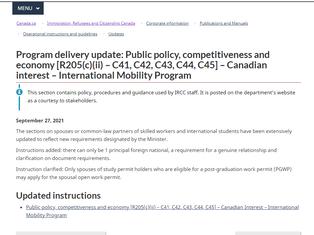 突发!加拿大工签政策重大改变:读语言学校将无法申请配偶工签!