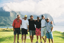 The Team on Lord Howe Is
