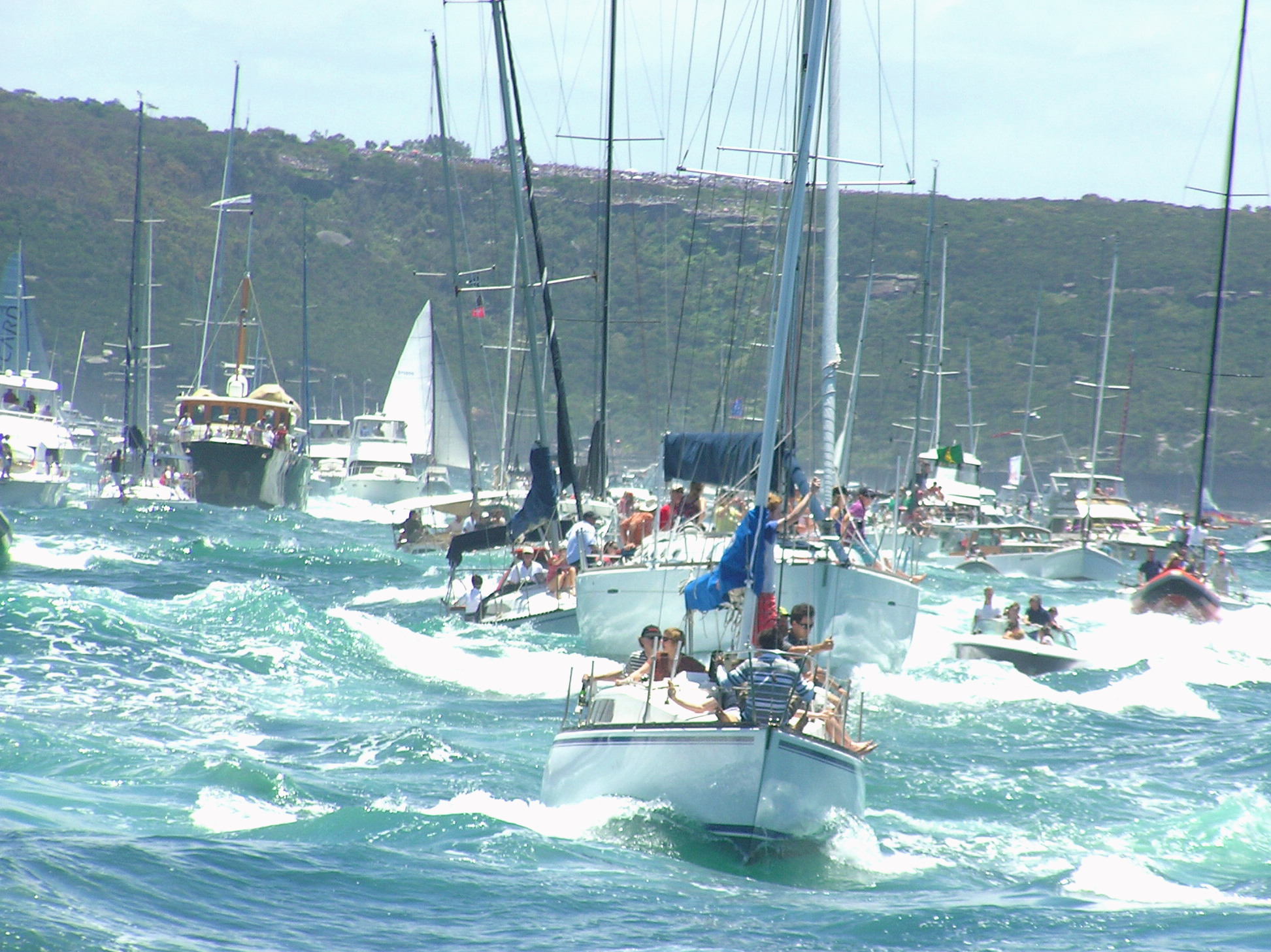 Sydney Hobart Race Start