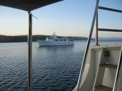 JBW anchored Bathurst Harbour