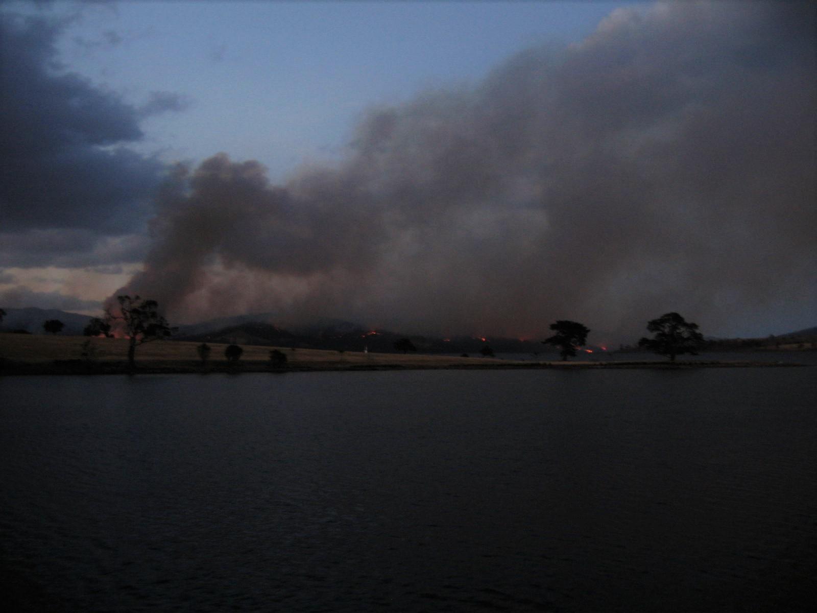 Bushfire, Bruny Island