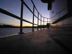 Sunset at Port Arthur