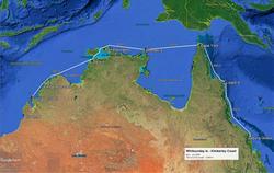 Whitsundays - Kimberley Route