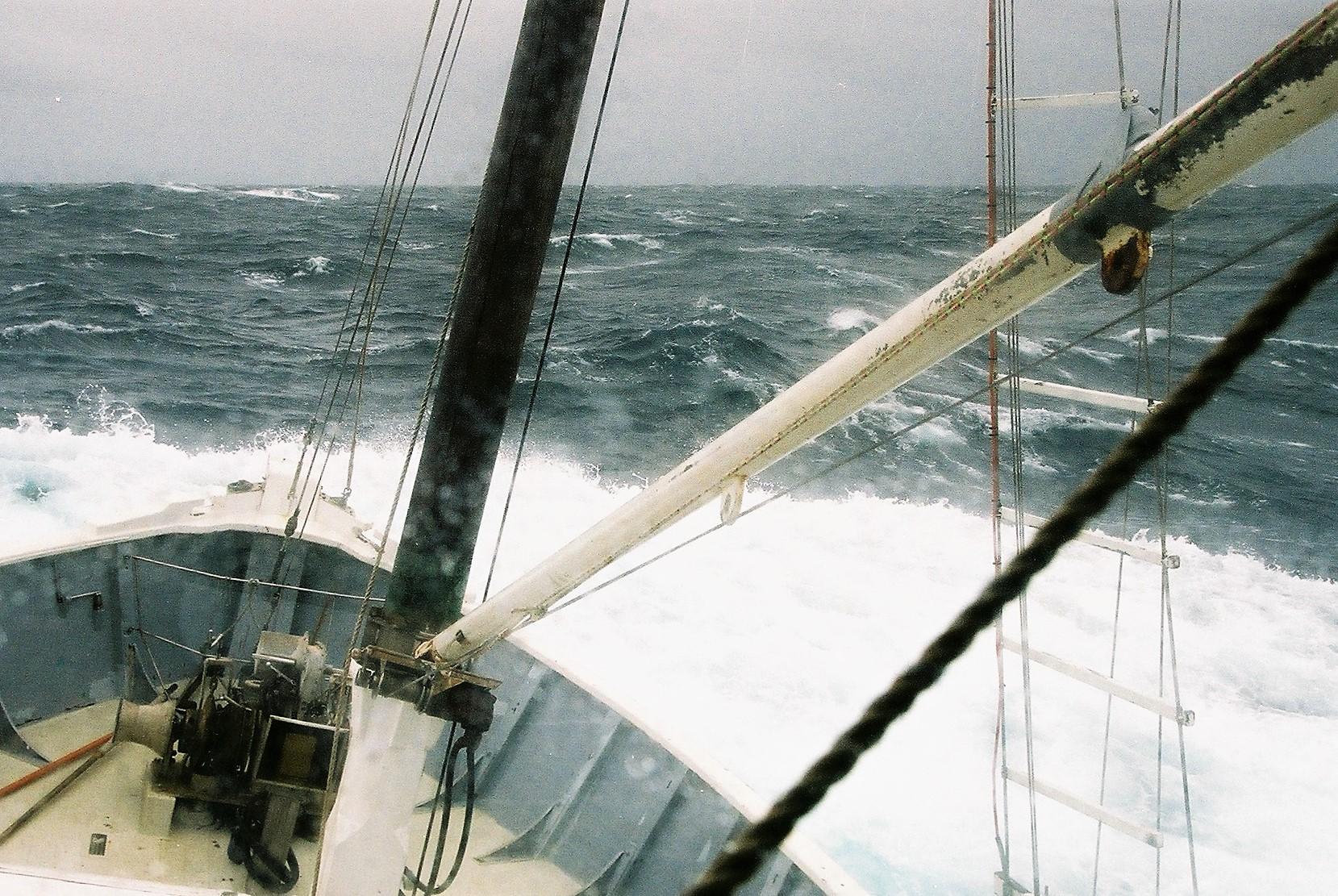 Southern Ocean gale