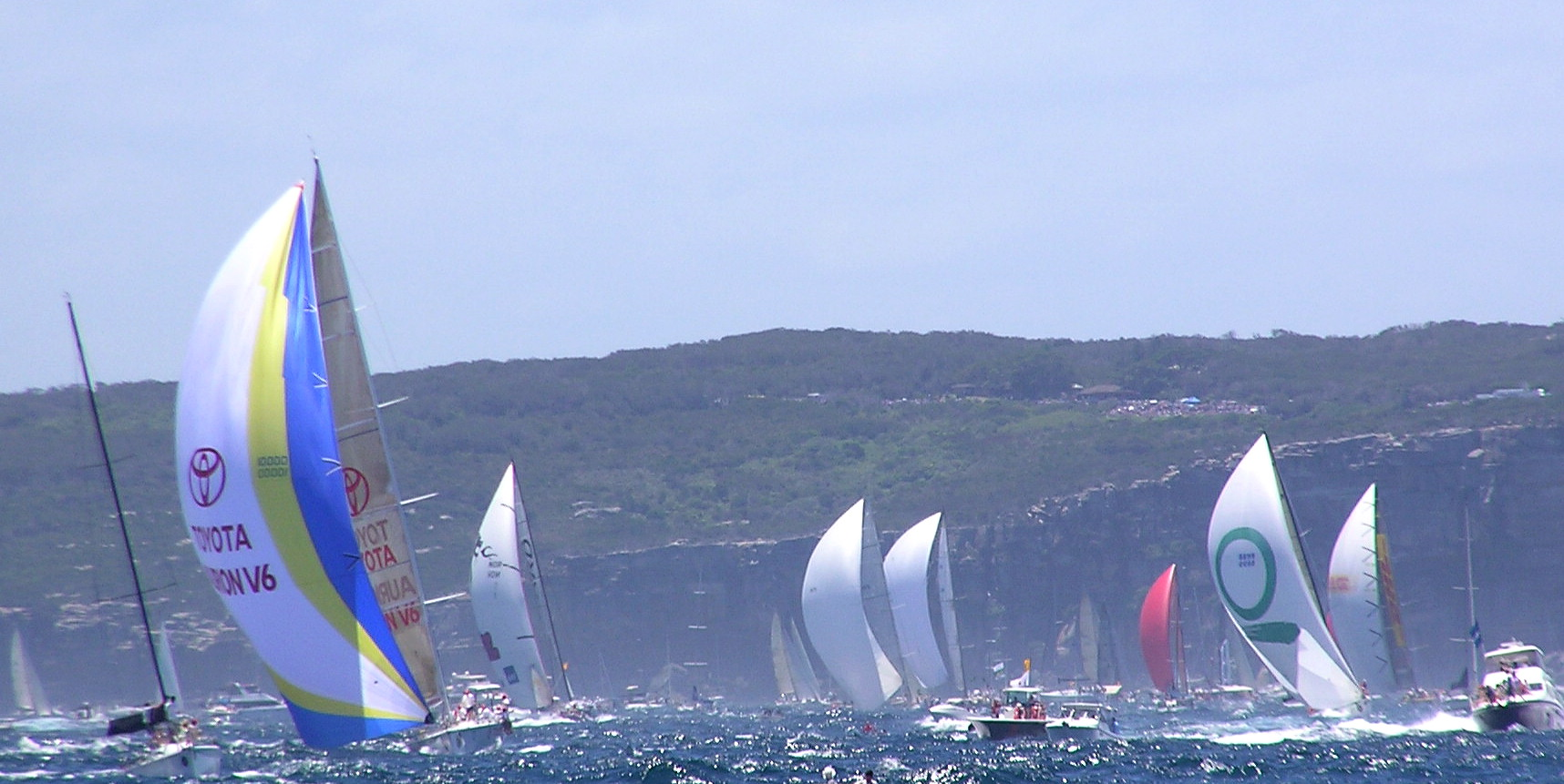 Hobart Race Fleet