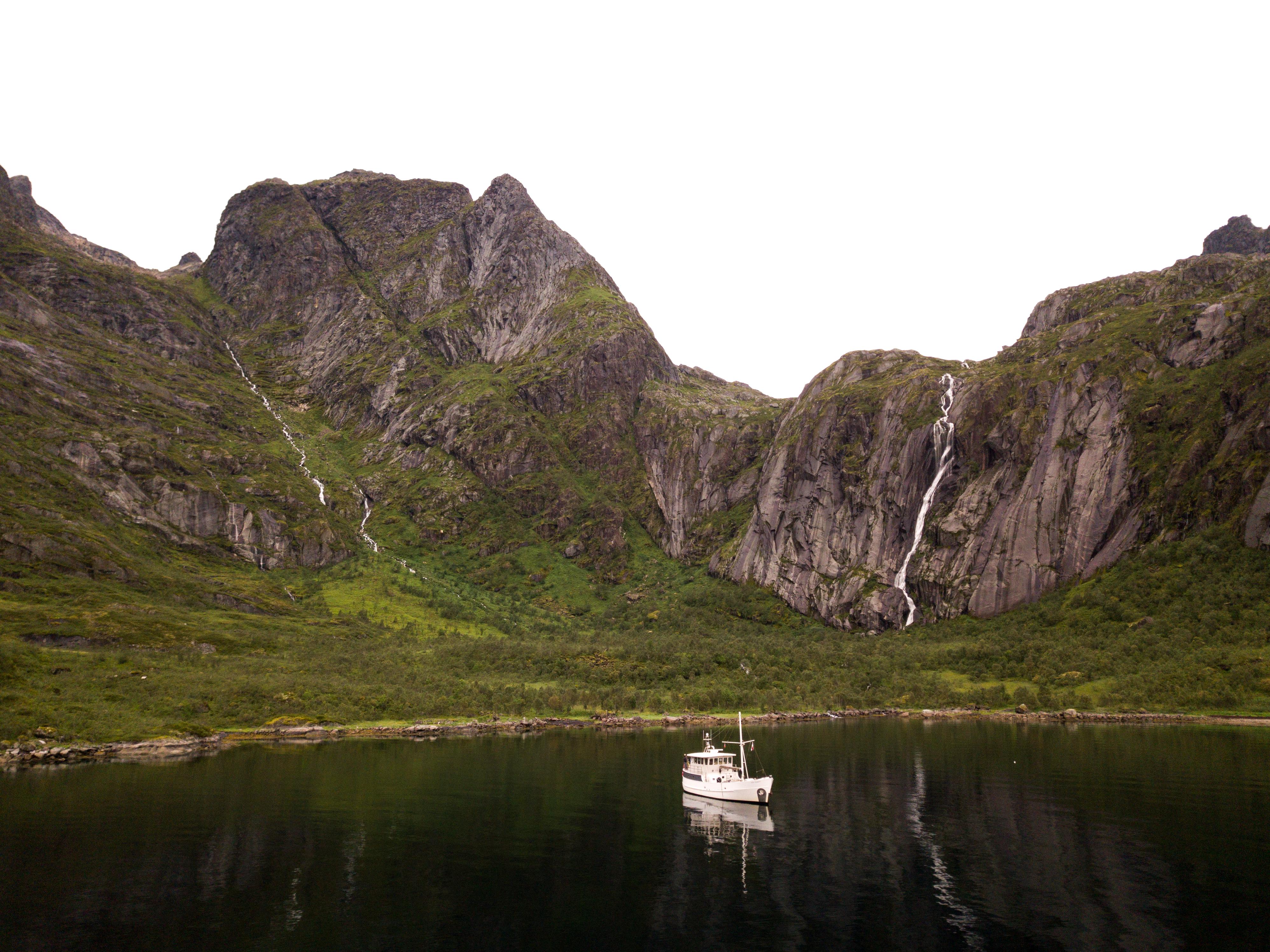 Waterfalls, Raftsundet, Lofoten