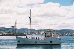 Safely back in Hobart
