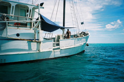 Anchored at Middleton Reef