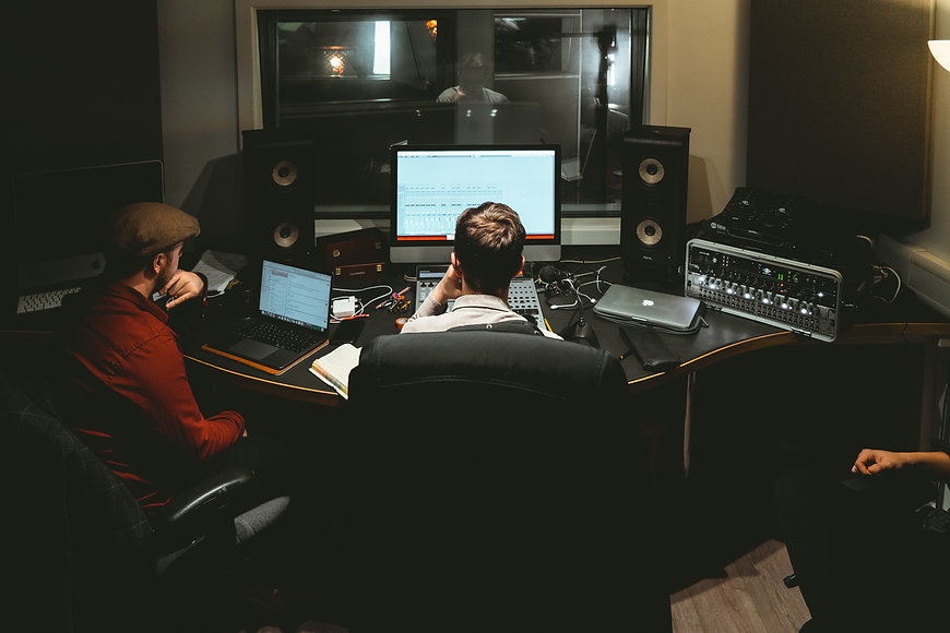 Control Room Sansom Studios