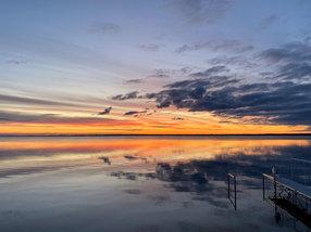 Otter Tail Lake Glass
