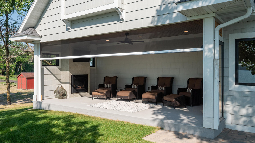 Remodeling - Lakeside Patio