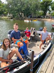 Boat Kids - Shady Grove Resort