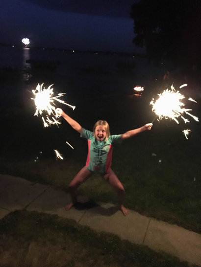 kids sparkler barky's