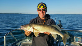 walleye fisherman