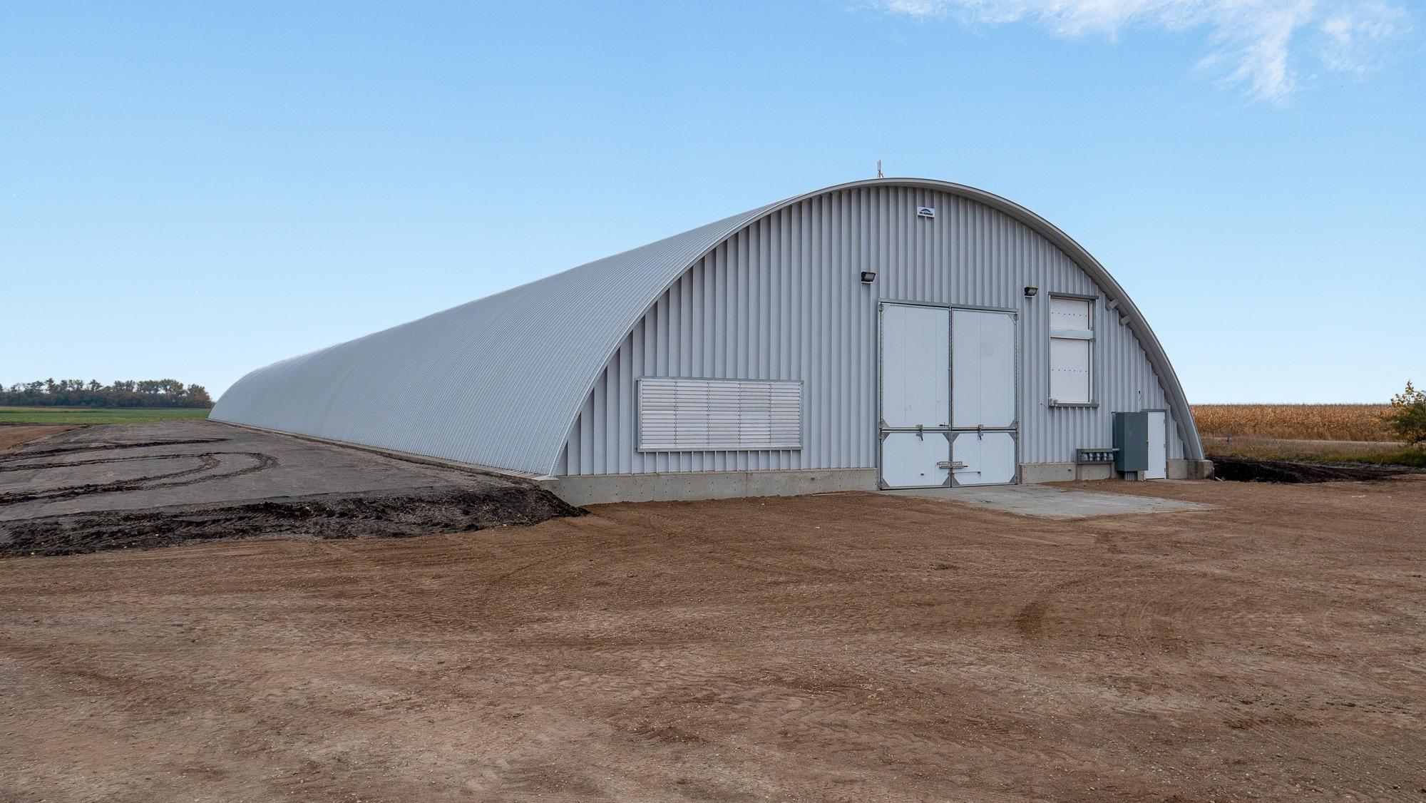 Arch Potato Storage