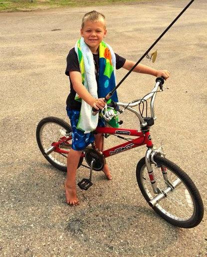fishing bike
