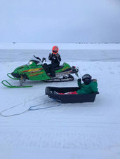 kids snowmobile