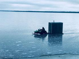 early ice fishing