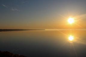 sunrise on otter tail