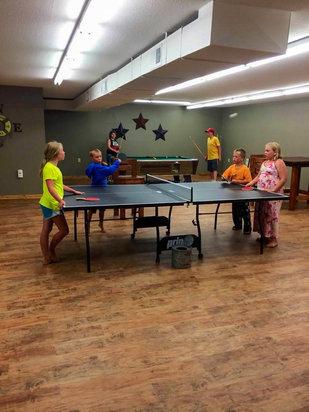 barky's kids ping pong