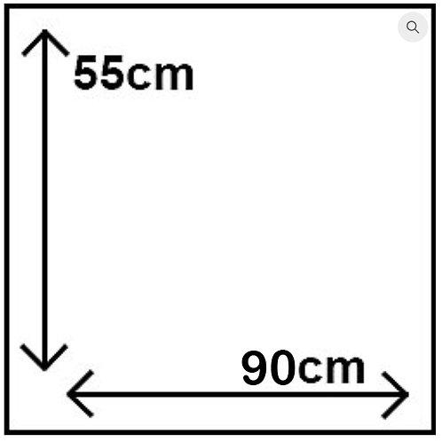 55cm x 90cm