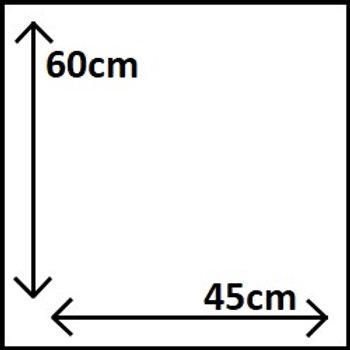 60cm x 45cm