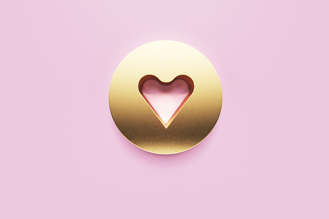 heart_gold_button_pink_background_shutte
