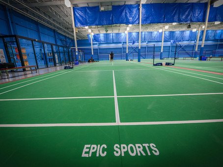 Epic Sports Badminton Facility