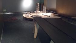 Flooring and set install at TIFF