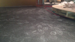 New floor installed
