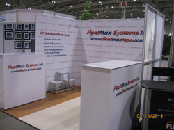 Float Max display at 2013 Home Show