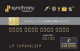 Synchrony card logo