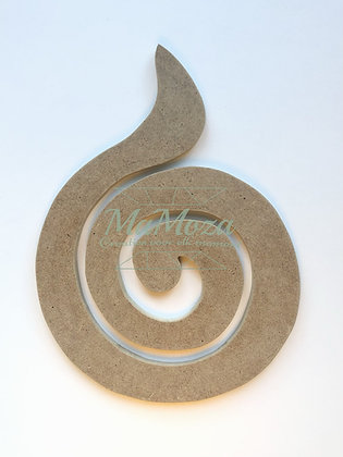 MDF Swirl 26,5cm