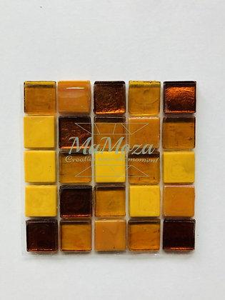 Vurig Oranje mix 15mm 25 stuks