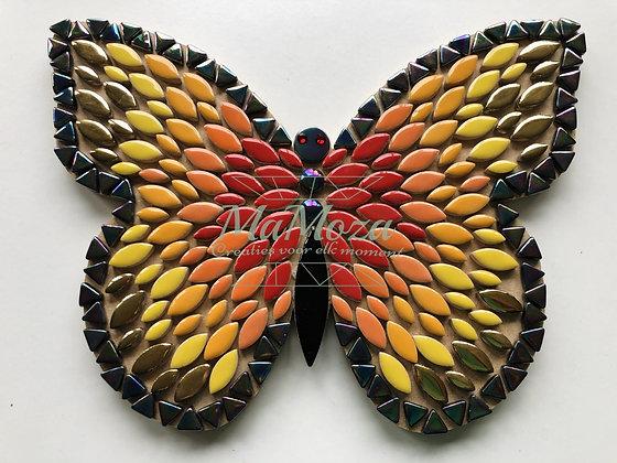 DIY Vlinder Fire 25 cm