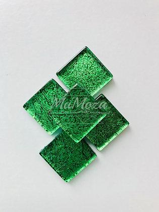 Folie 2x2 Donker Groen - 14 st
