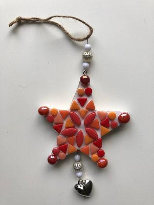 DIY hanger ster - rood