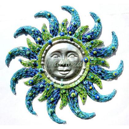 DIY Aztec Sun blue 50 cm